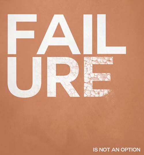 Motivational-Typography-Quote-Failure-Is-Not-An-Option