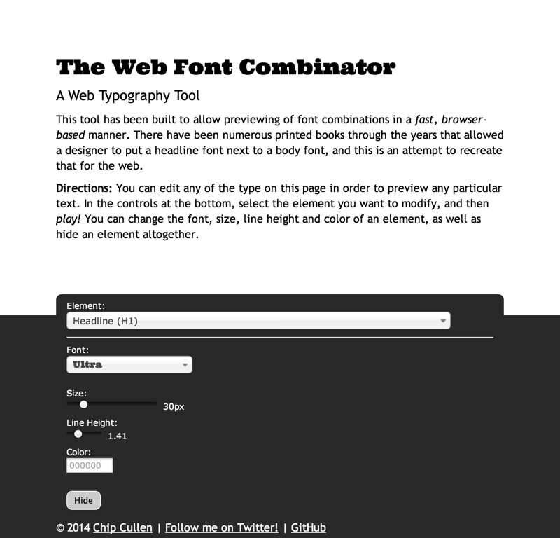The Web Font Combinator | A Web Typography Tool (20140704)