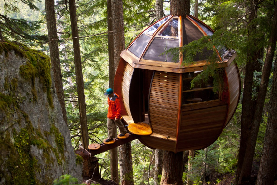 12 Creative and Innovative Tree House Designs | Inspirationfeed