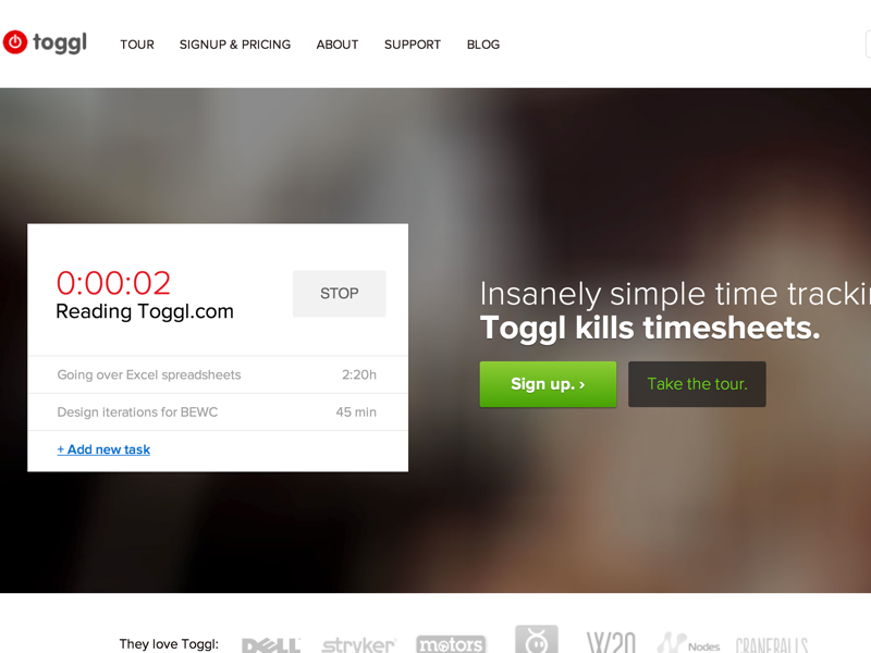 Toggl - Insanely simple time tracking (20140722)