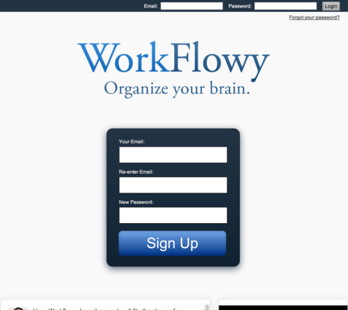 WorkFlowy - Organize your brain. (20140722)