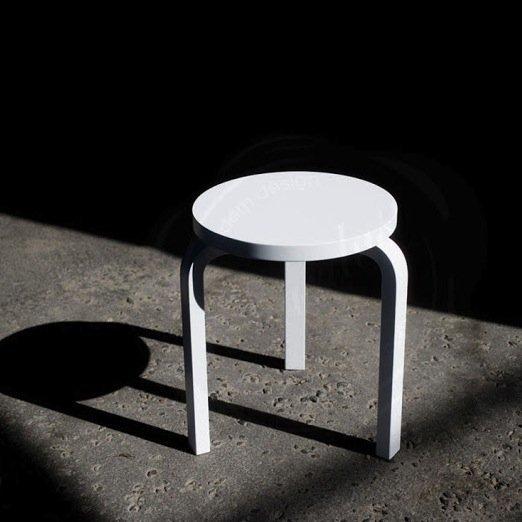 Alvar Aalto 60 Stool by Artek