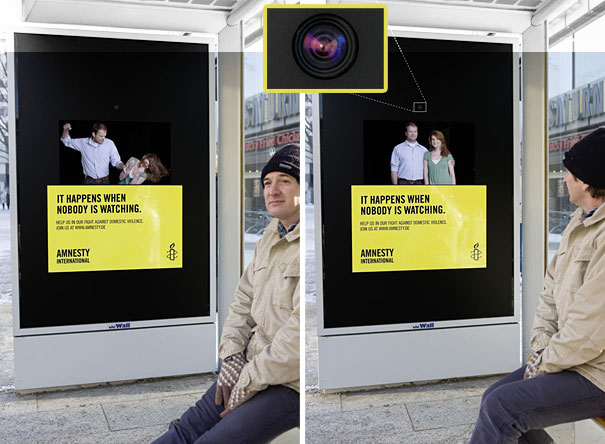 Amnestry Bus Stop Ad