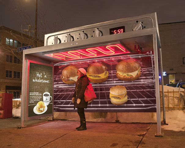 Caribou Coffee- Oven Bus Stop