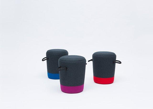 Duffel Stool by Tim Webber Design