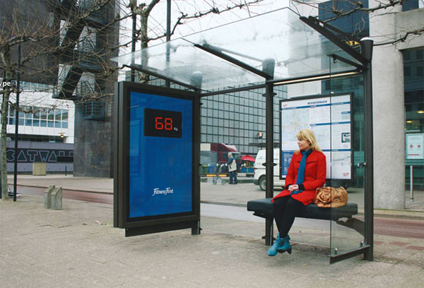 Fitness First- Bus Stop