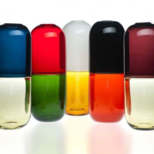 Happy Pills Vases by Fabio Novembre