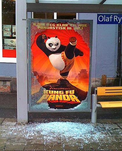 Kung Fu Panda bustop