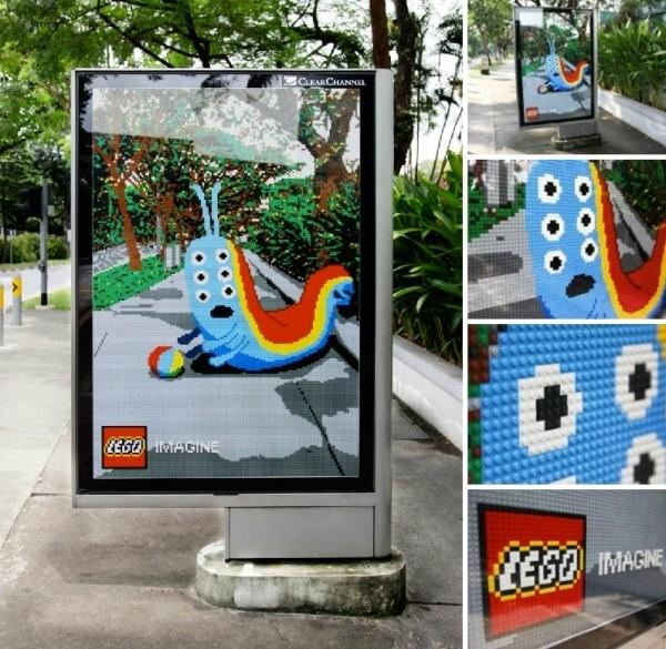 Lego Bus Stop Ad