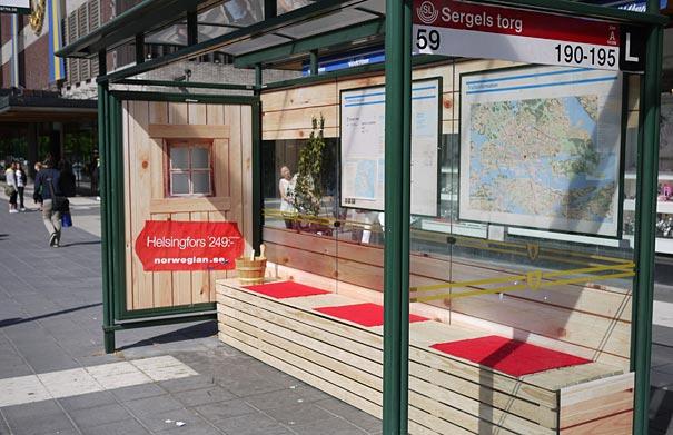 Norwegian Airline's New Destinations- The Sauna
