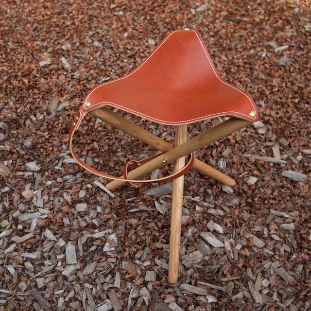 Official Camp Stool by Wood&Faulk