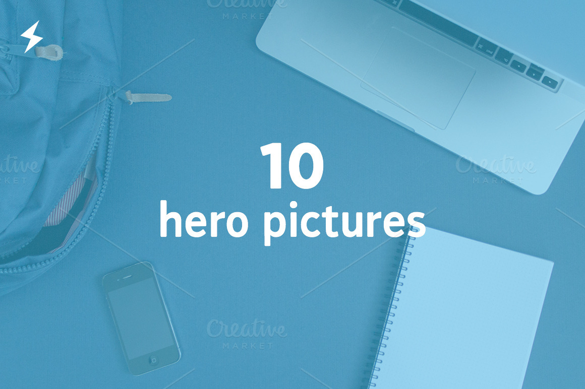 10 Hero + 2 Stationery Pictures