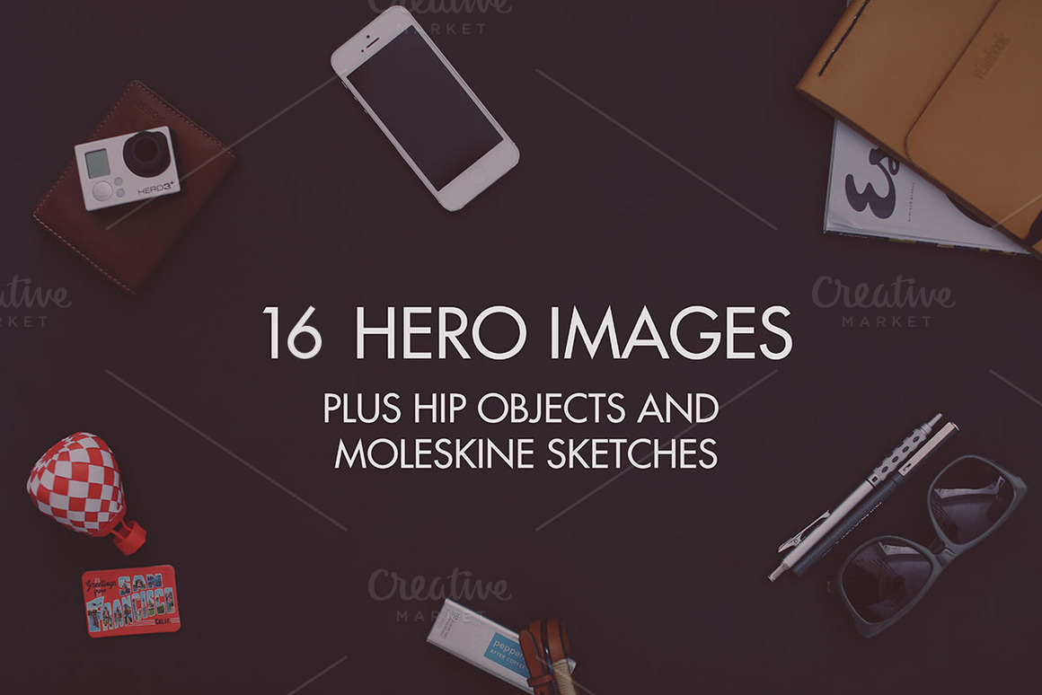 16 Hip Hero Images and Objects