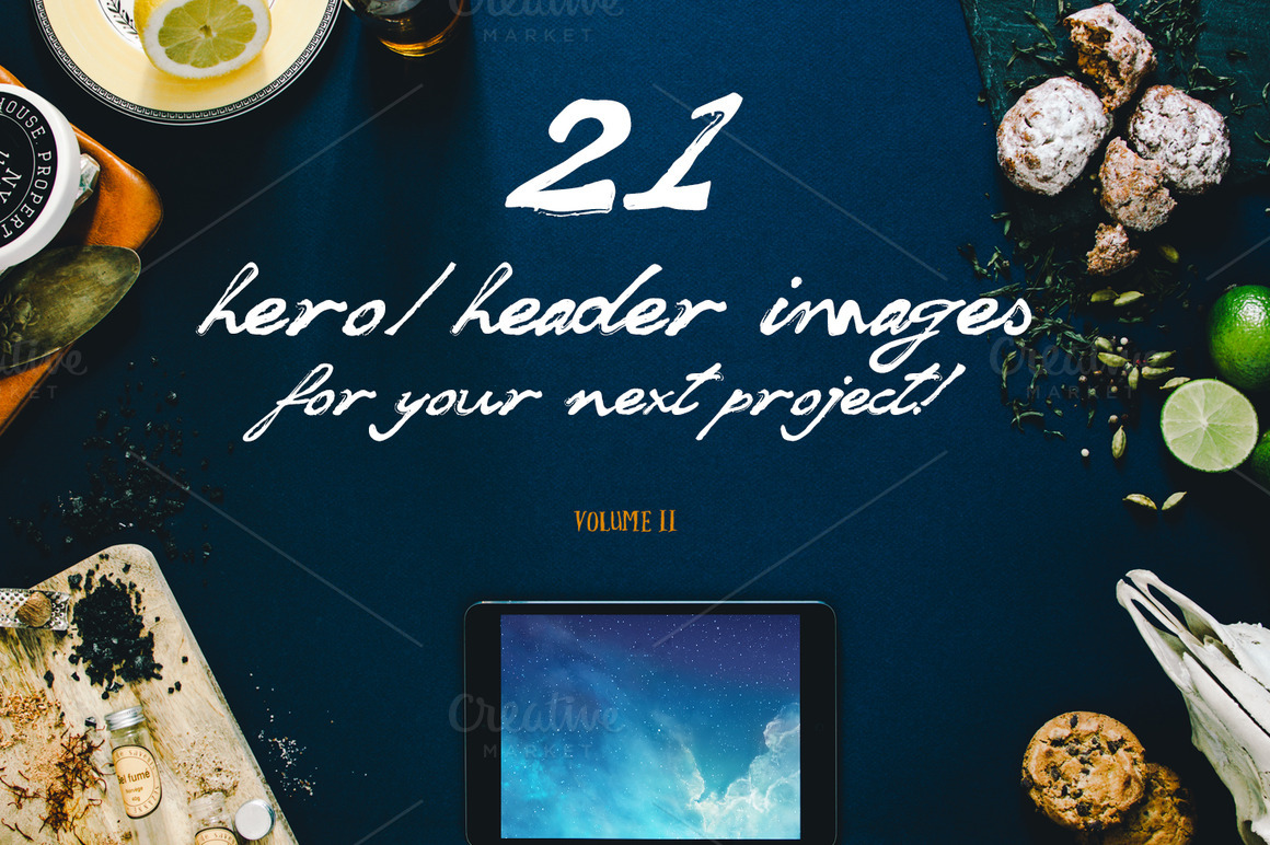 21 Hero:Header images Vol.2