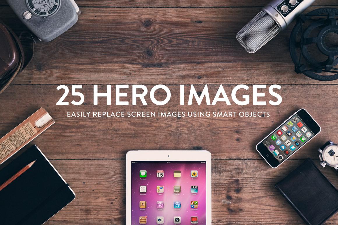 25 Header:Hero images - Wood series