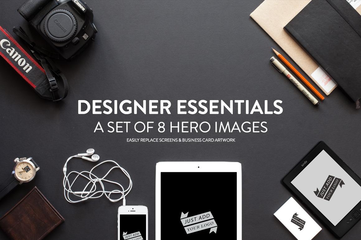 8 Designer Essentials Hero Images