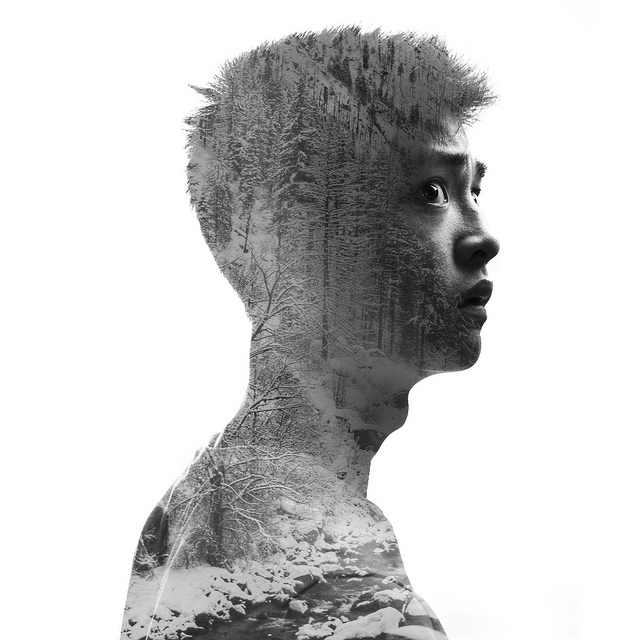 9678654426 05236ee32c z 35 Incredible Examples of Double Exposure Photography