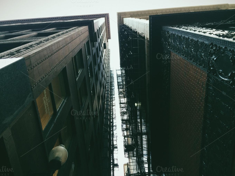 Between Buildings by Sam Daniels
