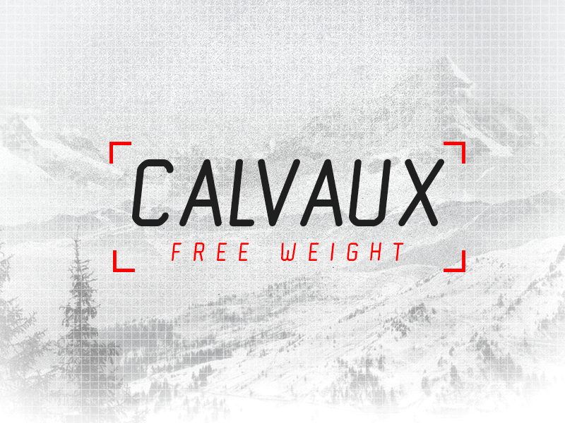 calvaux by ryan welch 50 Free Fonts Youll be Tempted to Download
