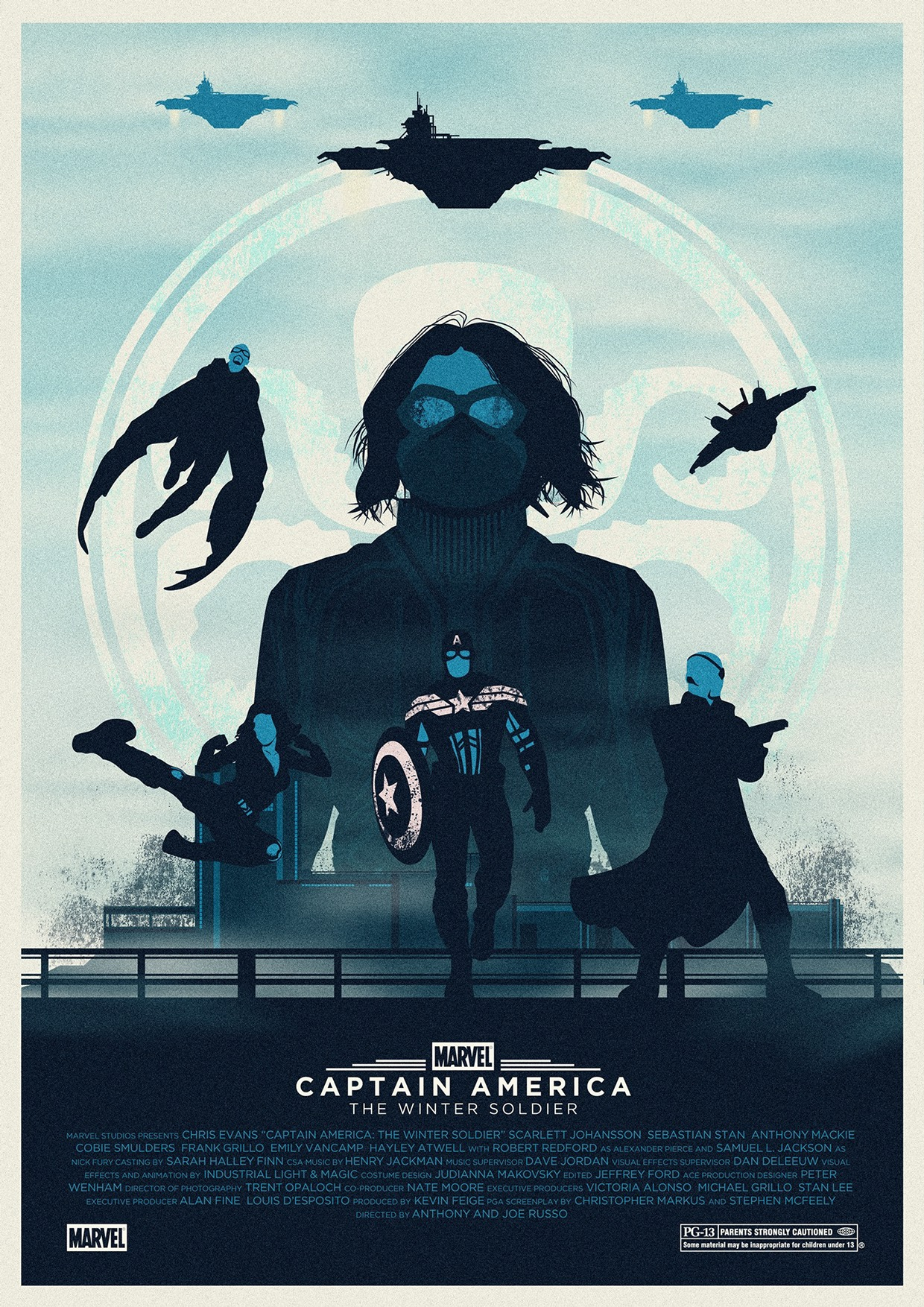 Captain America- The Winter Soldier by Eric Veiga