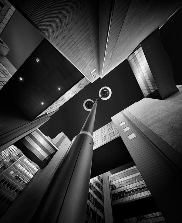 Dark cities by Jens Fersterra
