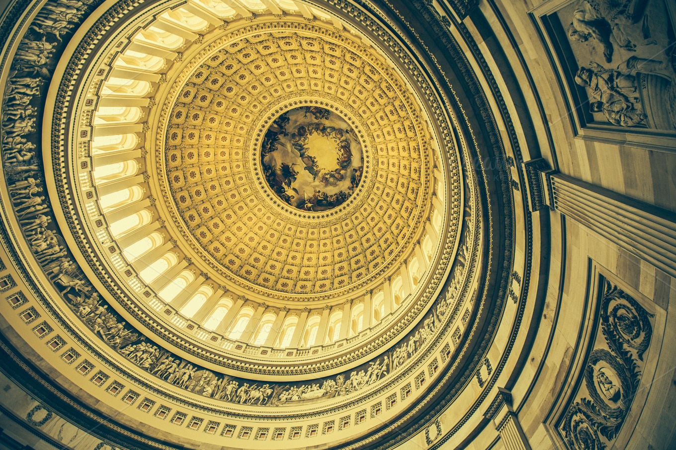 Dome of Washington Capitol by Ben Geier