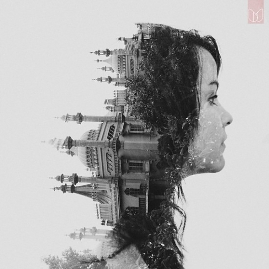 double 35 Incredible Examples of Double Exposure Photography
