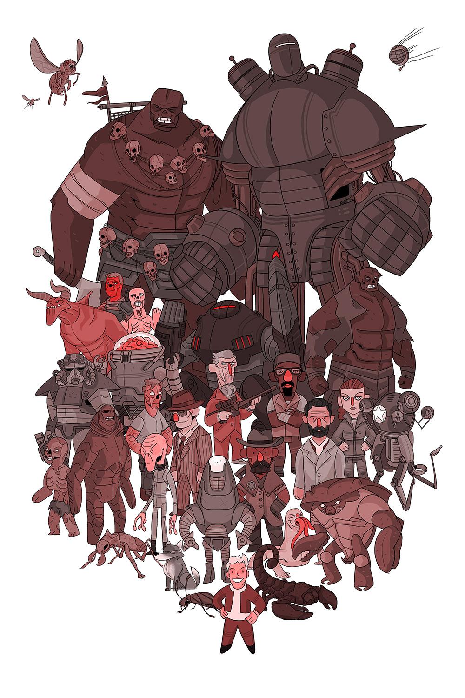 Fallout by Shane Hillman
