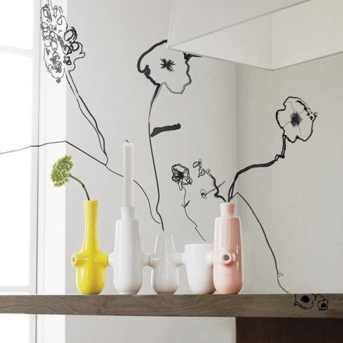 Fiducia Magnetic Vase & Candlestick Holder