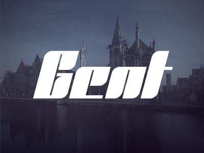 Gent font by Tarek Okbir
