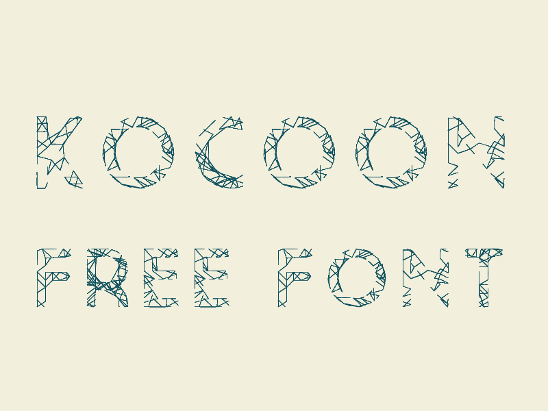 Kocoon Light Free Font by GiVe