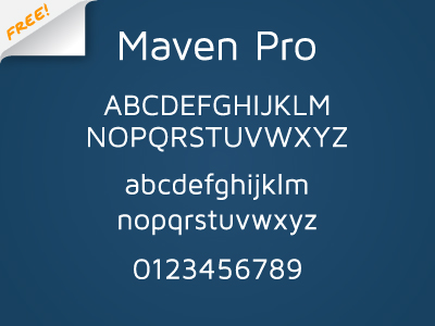 Maven Pro by Joe Prince