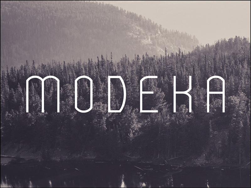 modeka by gatis vilaks 50 Free Fonts Youll be Tempted to Download
