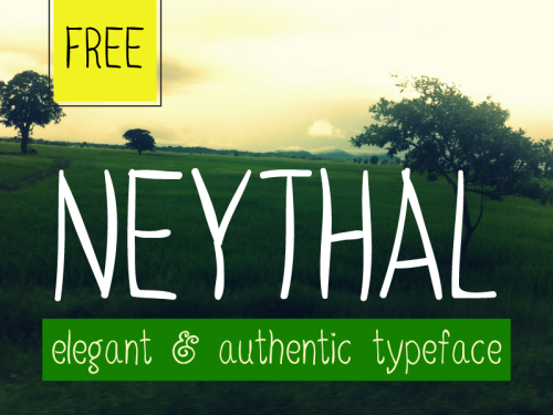 Neythal Free Font by Tharique Azeez