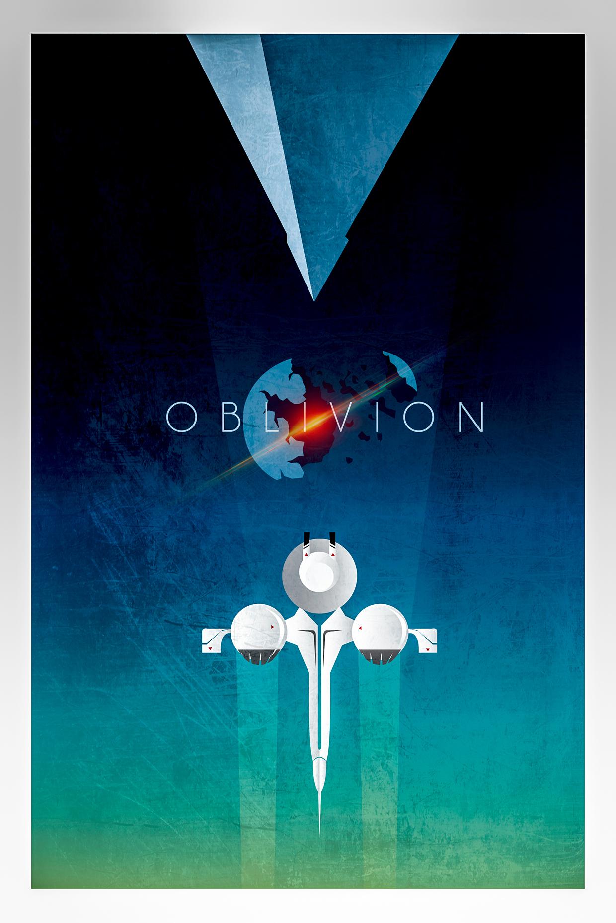 Oblivion Poster by Luigi Rinaldi