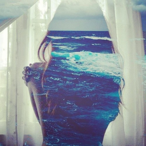 ocean 35 Incredible Examples of Double Exposure Photography