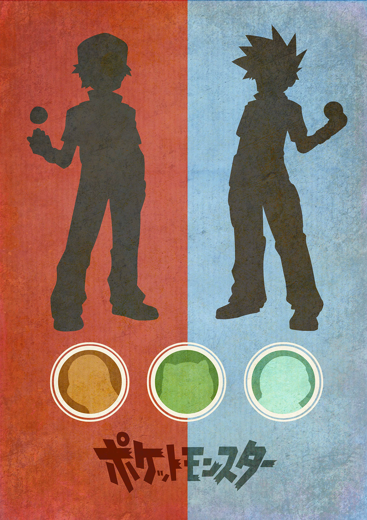 Pokemon Red & Blue by Chris Minney