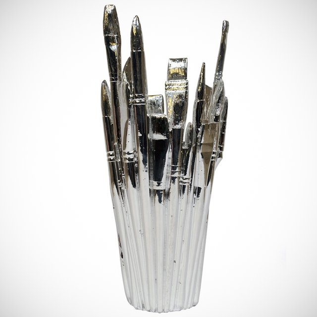 Reality Brush Vase by AREAWARE