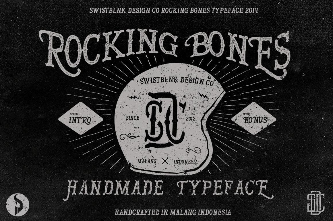 Rocking Bones Typeface