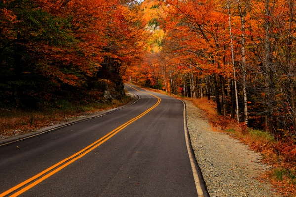 Route 26 in Maine by Nate Levesque