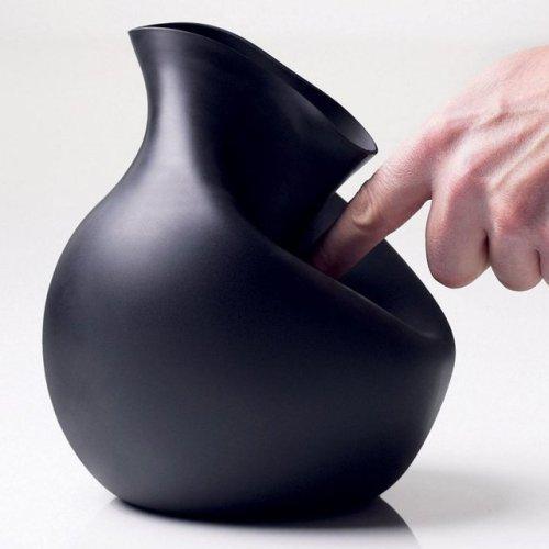 Rubber Vase by Menu