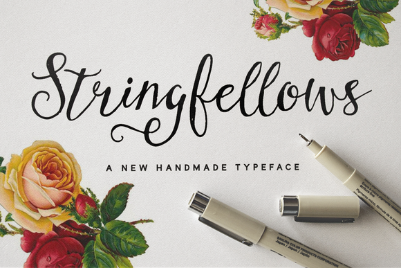 Stringfellows Typeface