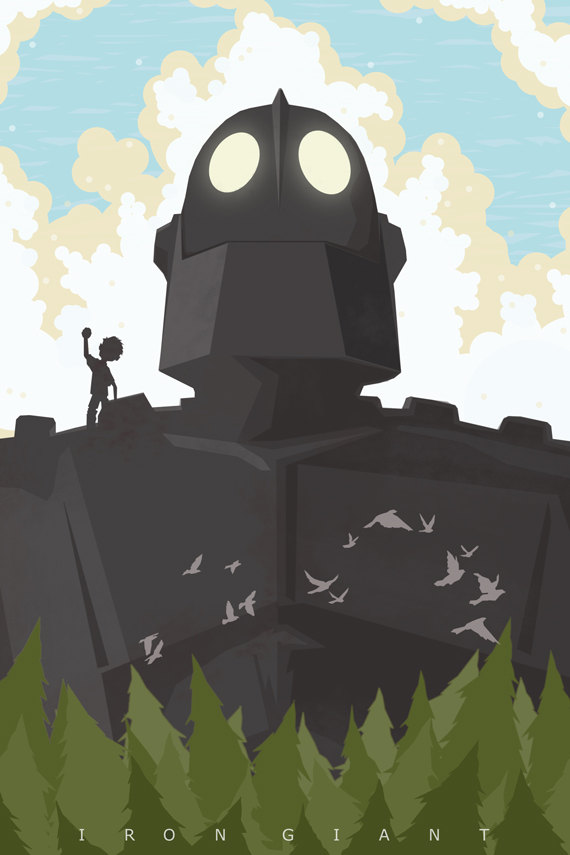 The Iron Giant by Michael Rogers