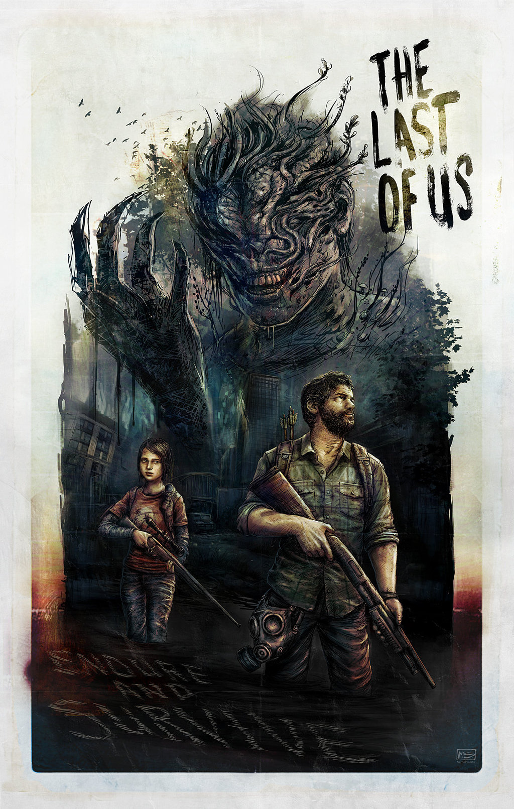 The Last of Us by Michal Salata