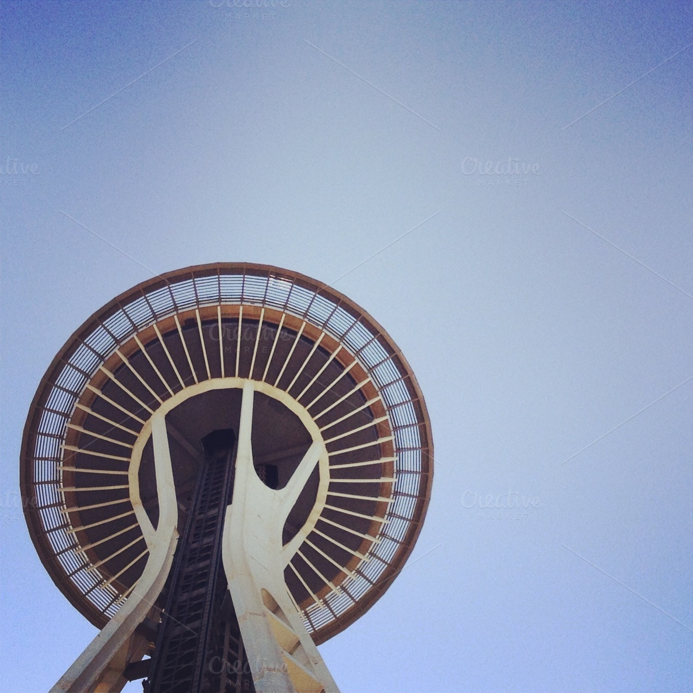 The Space Needle by Hello Goodbye studio