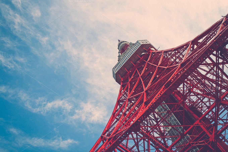 Tokyo Tower by Lina Tsutsumi