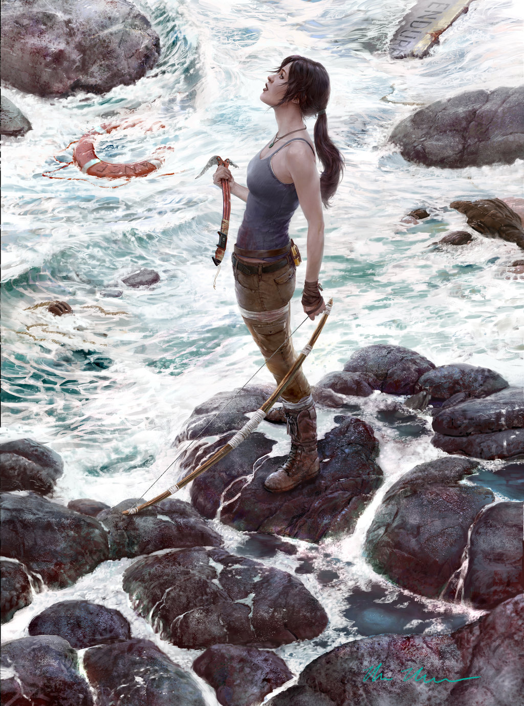 Tomb Raider Reborn Fan Art by Mark Molchan