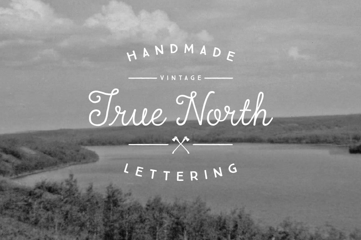 True North Font Pack