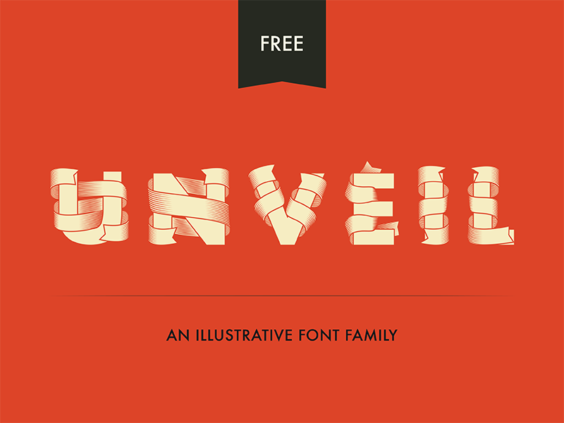 unveil by tre seals 50 Free Fonts Youll be Tempted to Download