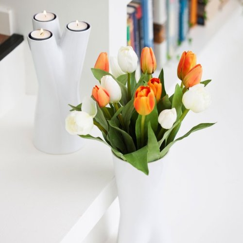 Upside-down Vase : Candle Holder by Sagaform